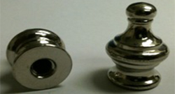 Nickel Pyramid Finial