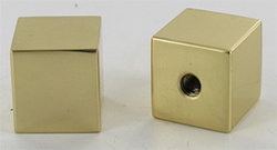 Square Brass Finial